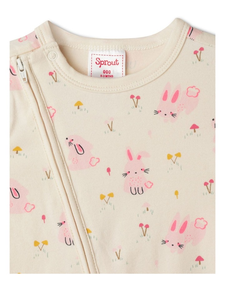 Organic Essential Bunny Field Coverall image 2