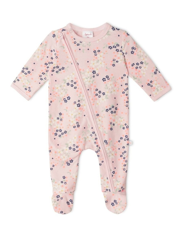 Organic Essential Floral Coverall image 1