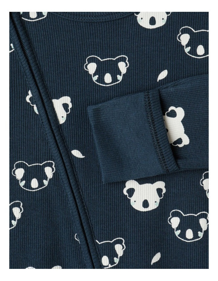 Organic Essential Rib Koala Coverall image 3