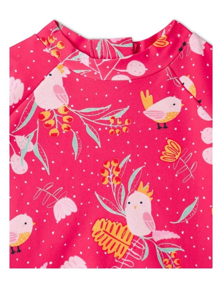 Aussie Flora & Fauna Swimsuit Raspberry image 3
