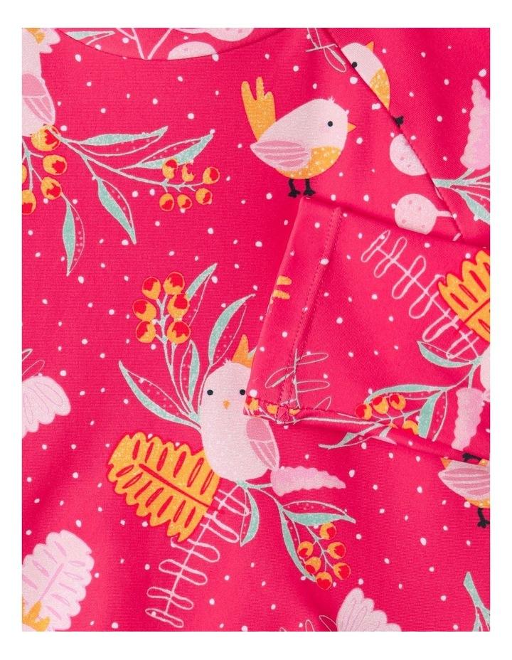 Aussie Flora & Fauna Swimsuit Raspberry image 4