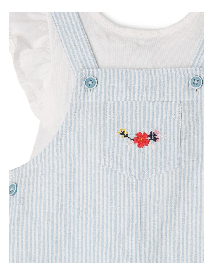 Girls Pinafore with Top image 3