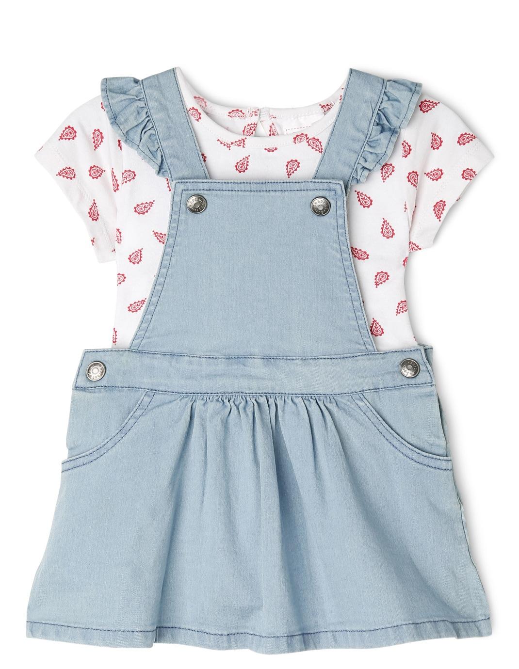 a8df8c961f5e Amazon.com  denim pinafore dress