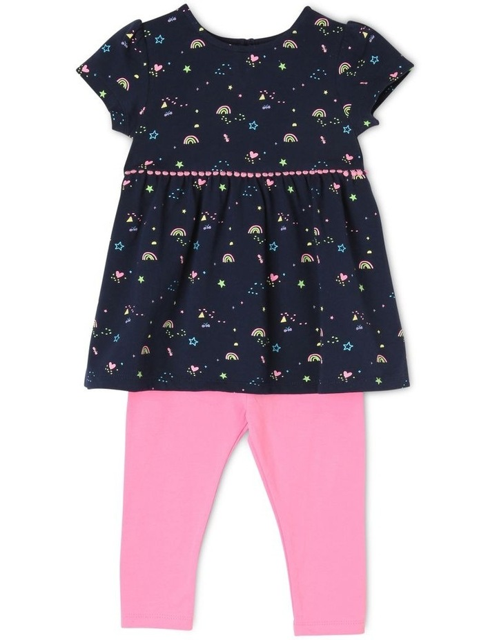 Girls Fashion Tunic And Legging Set image 1