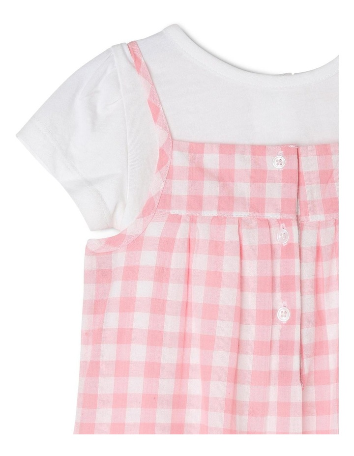 Girls T-Shirt and Overall Romper Set image 3