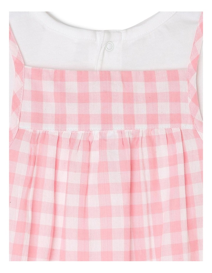 Girls T-Shirt and Overall Romper Set image 4