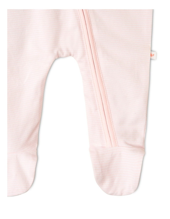 Organic Essential Bunny Coverall Set in Pale Pink image 7