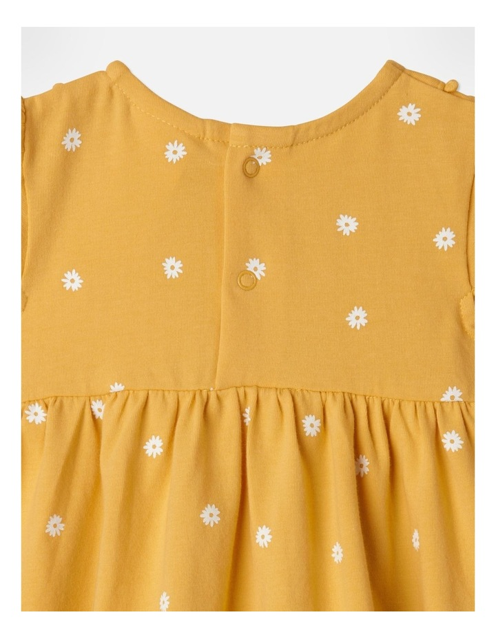 Top and Legging Floral Set in Mustard image 4