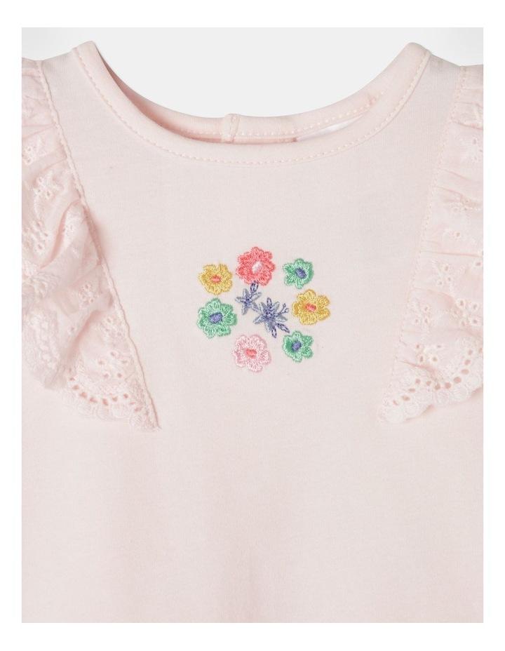 Floral Broderie Tee & Legging Set image 2