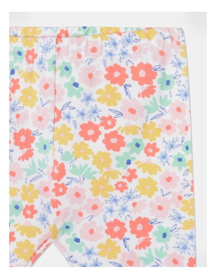 Floral Broderie Tee & Legging Set image 7