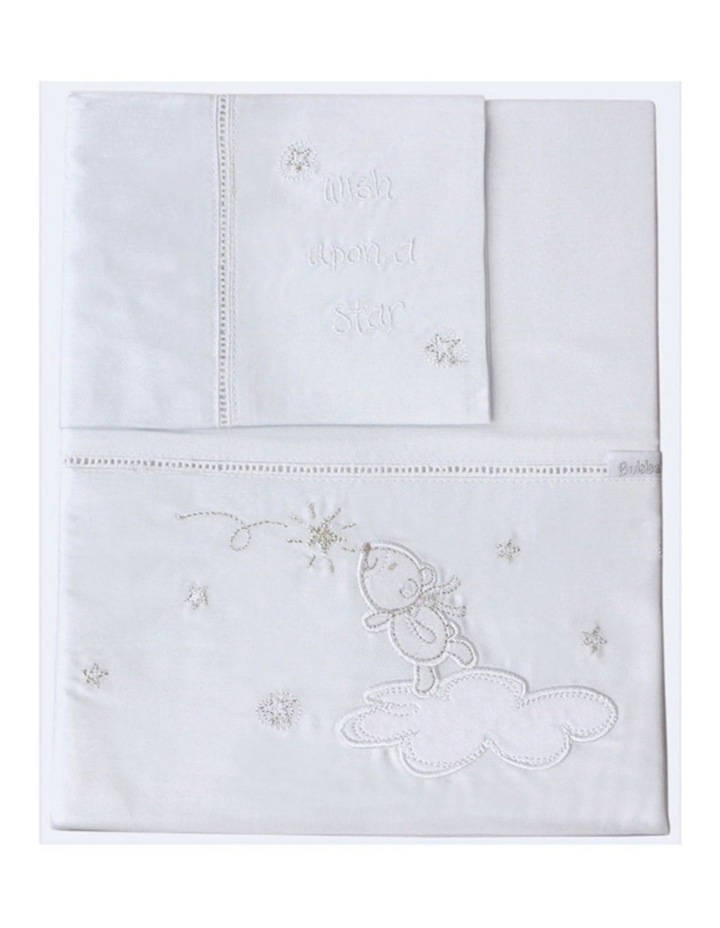 Wish Upon A Star 3 Piece Cot Sheet Set image 4