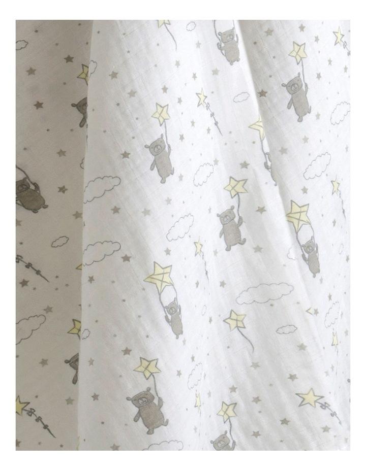 Muslin 1Pk Prints - Bears in the Stars image 2