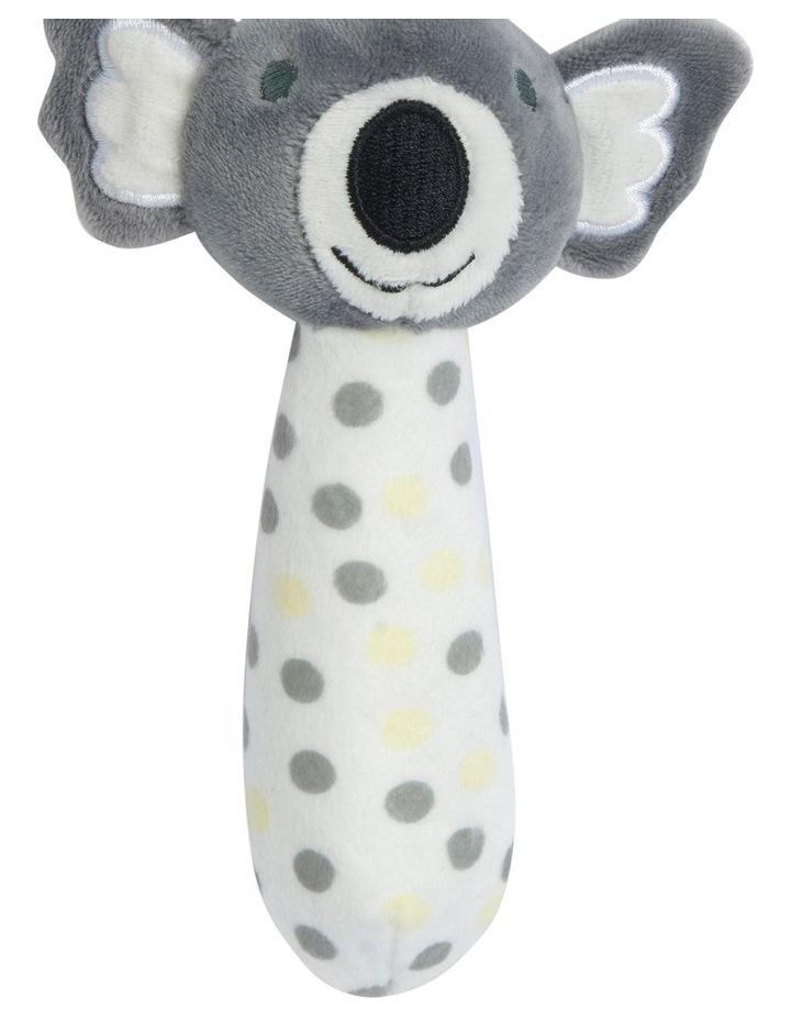 Muslin Wrap & Crinkle Toy - Silver Koala image 4