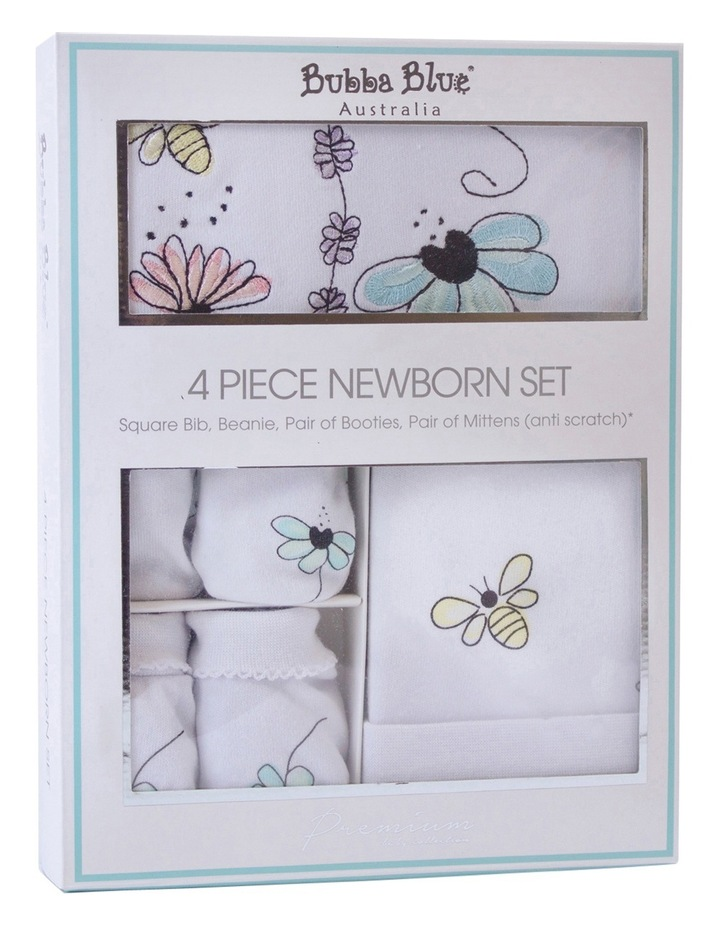 Bee Beautiful 4pce newborn layette set image 1