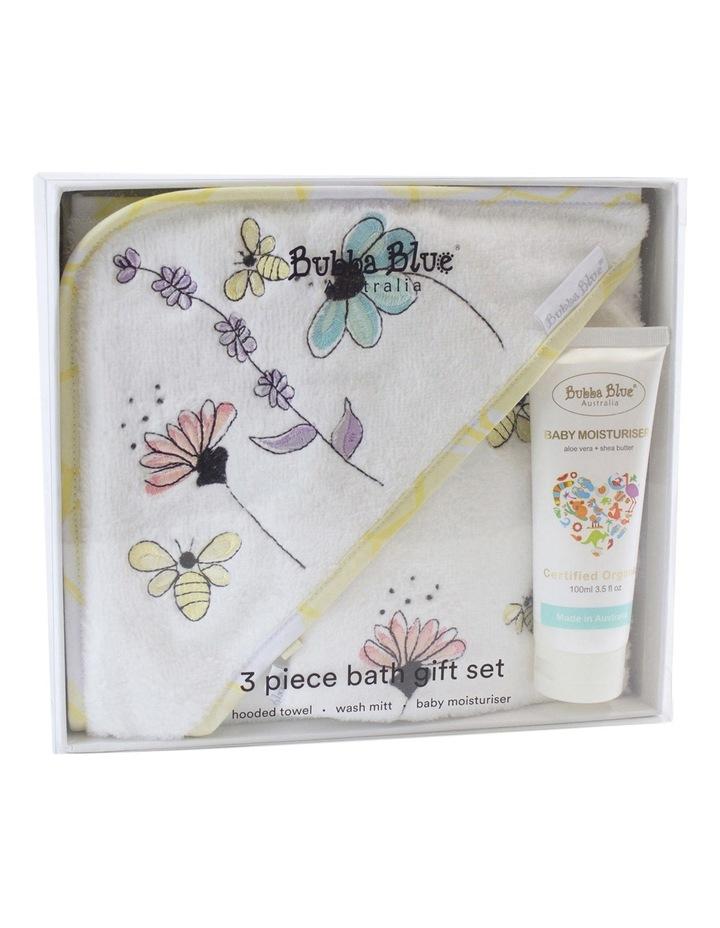 Bee Beautiful 3pce bathtime gift set image 1