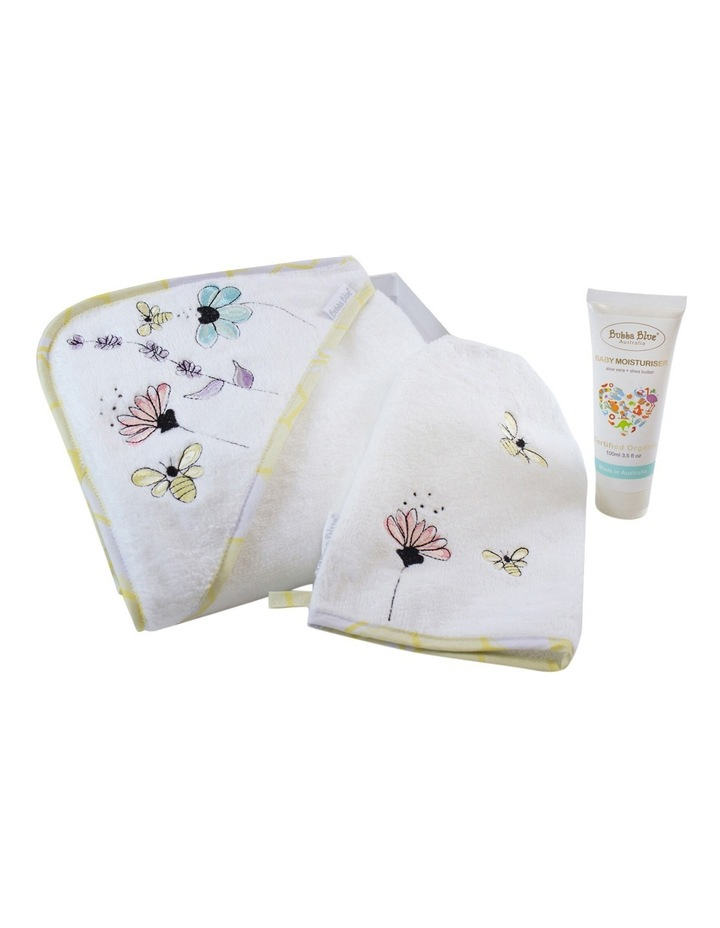 Bee Beautiful 3pce bathtime gift set image 2