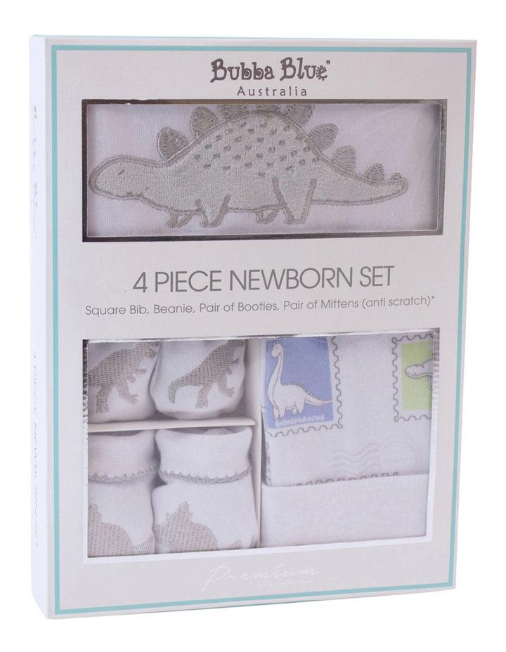 Jurassic 4pce newborn layette set image 1