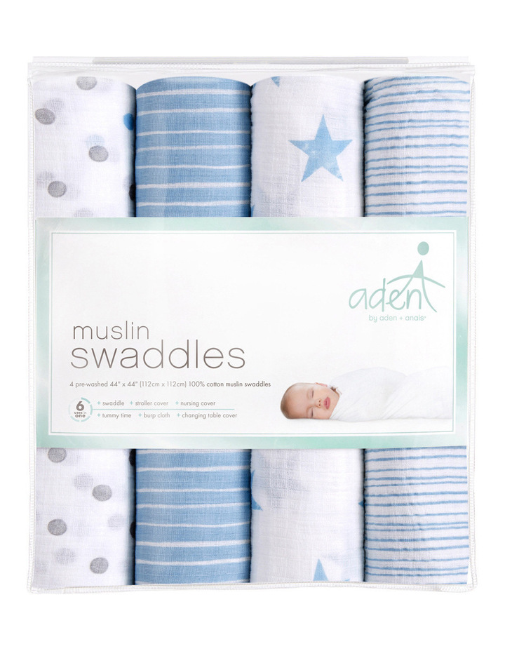 4Pack Swaddles image 1