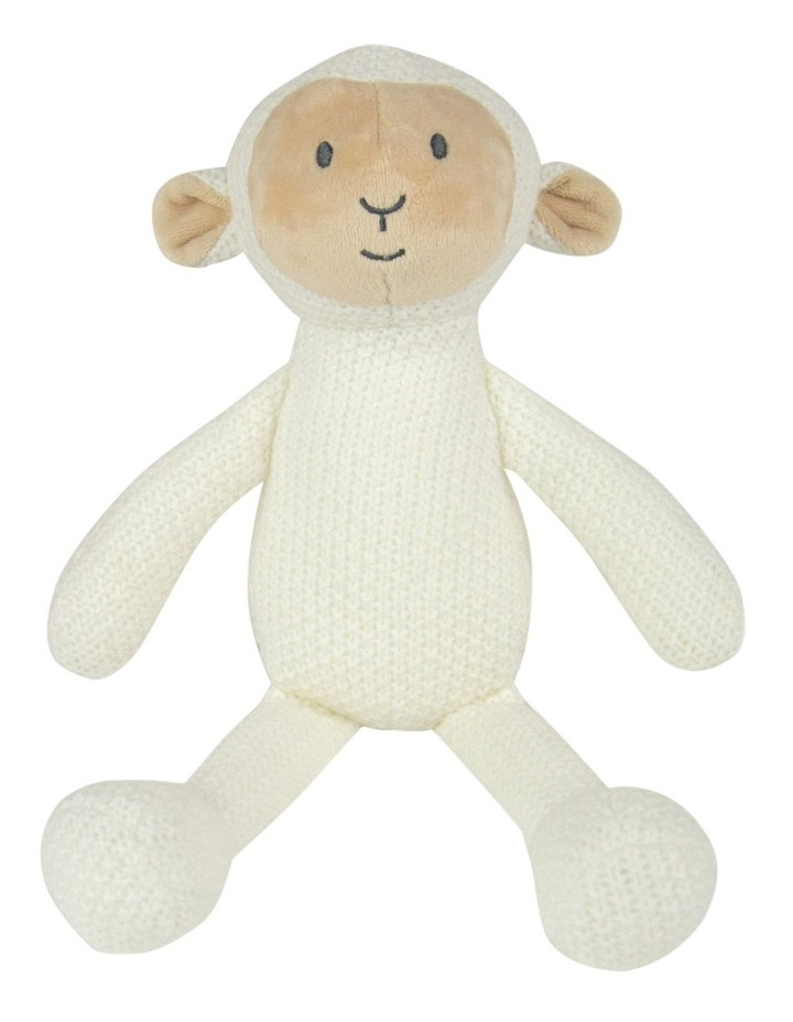 Pearl Knit Toy - Lamb image 1