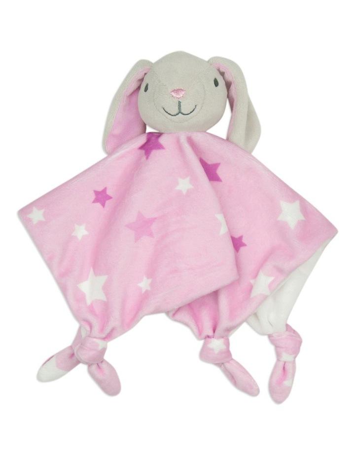Lovie/Comforter - Bunny Pink image 1