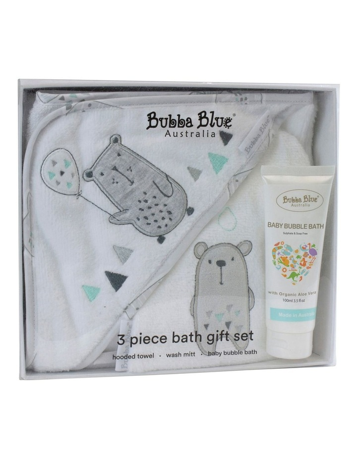"""Beary Happy"" 3pc Bathtime Gift Set image 1"