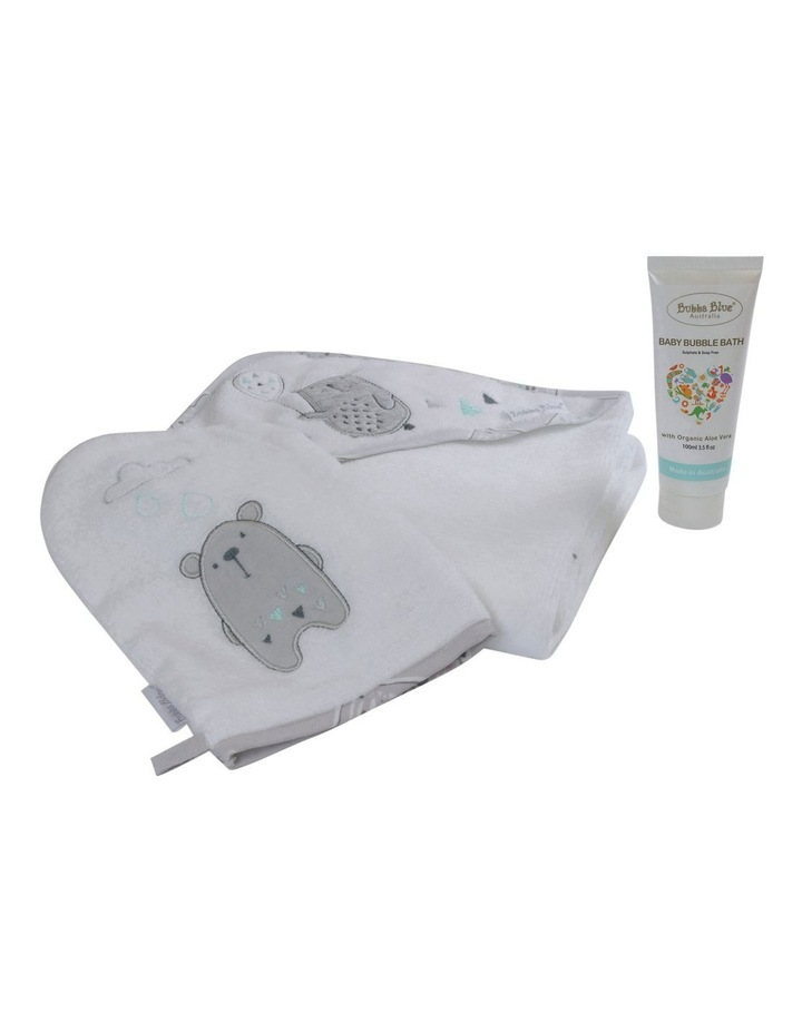 """Beary Happy"" 3pc Bathtime Gift Set image 2"
