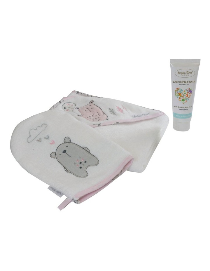 """Beary Sweet"" 3pc Bathtime Gift Set image 2"