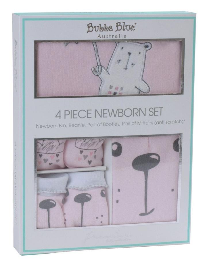 """""""Beary Sweet"""" 4pc Newborn Layette Set image 1"""