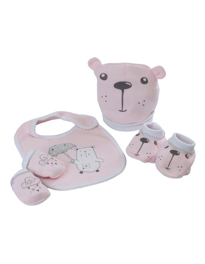"""""""Beary Sweet"""" 4pc Newborn Layette Set image 2"""