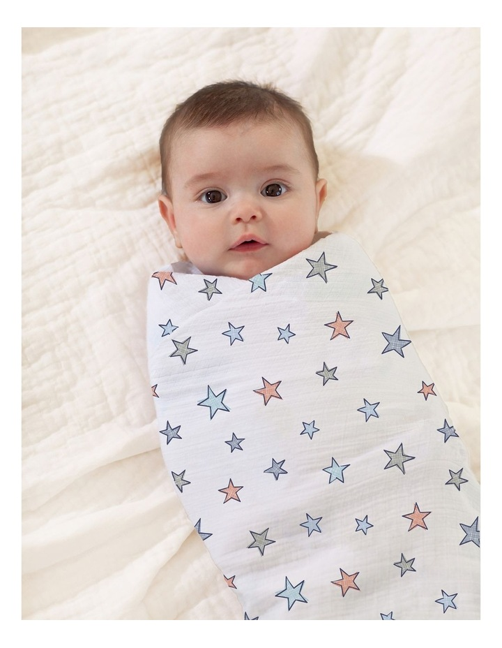 Hit The Road Muslin Swaddles 4-Pk image 4