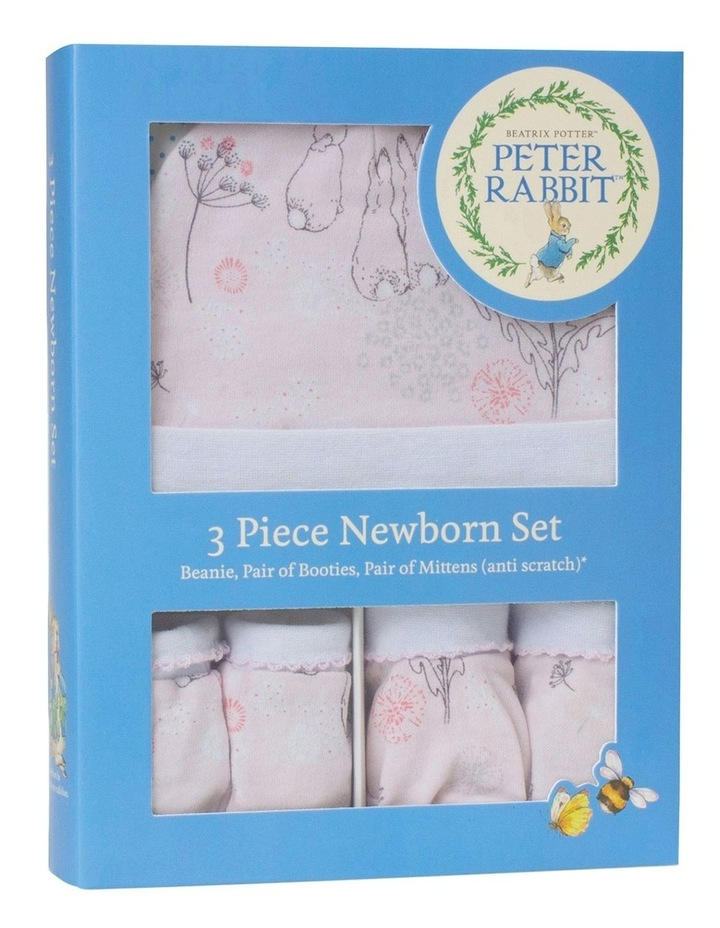 """Peter Rabbit"" Dandelion Dreams 3 piece Newborn Layette Gift Set image 1"