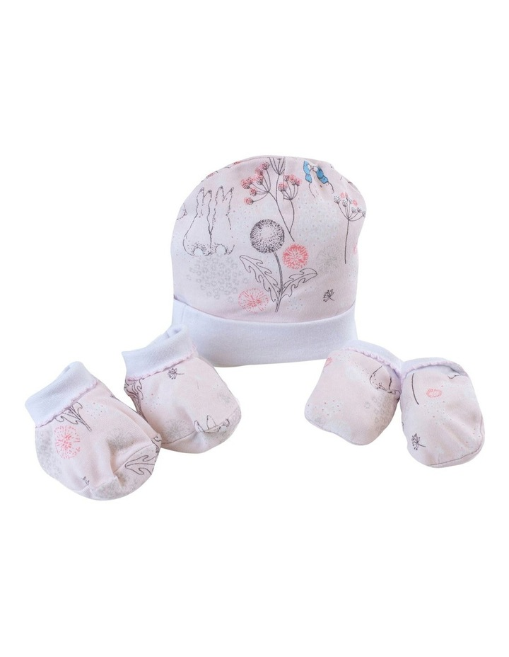 """Peter Rabbit"" Dandelion Dreams 3 piece Newborn Layette Gift Set image 2"