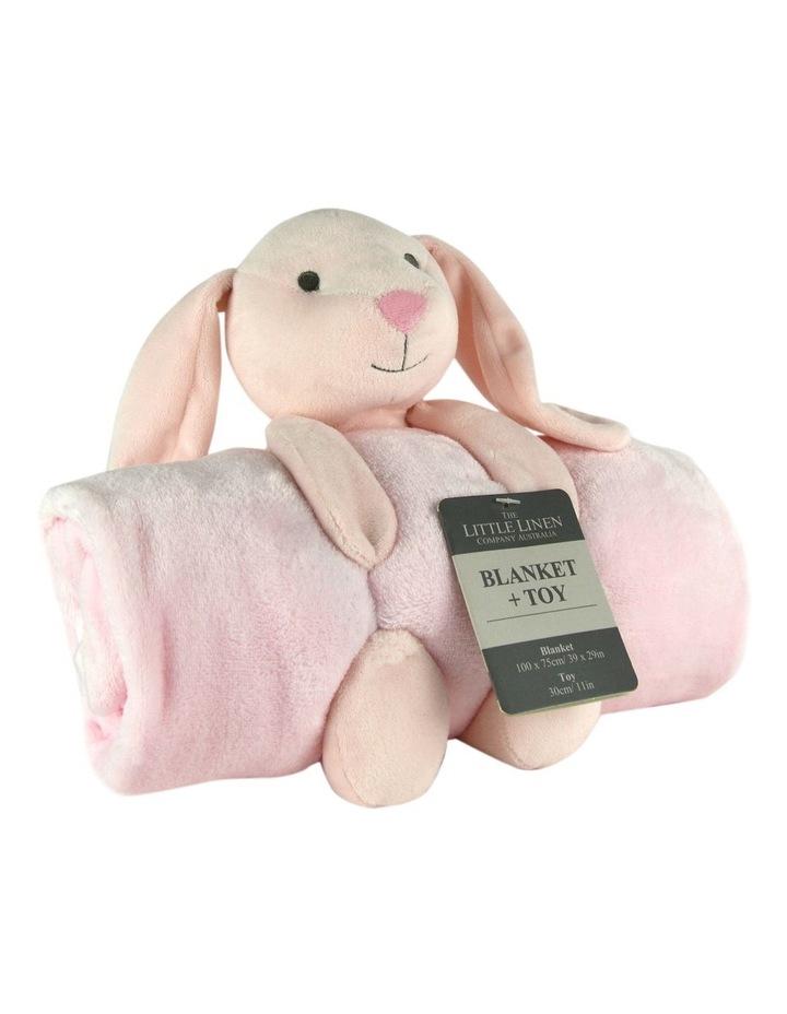 TLLC Plush Toy & Blanket - Bunny image 1