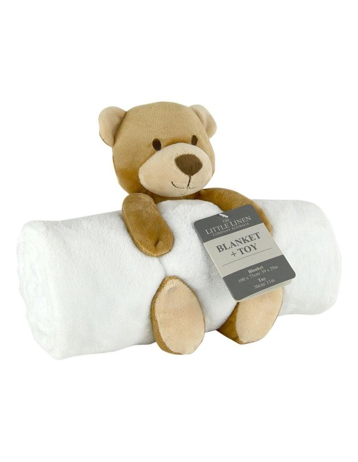 TLLC Plush Toy & Blanket - Bear image 1