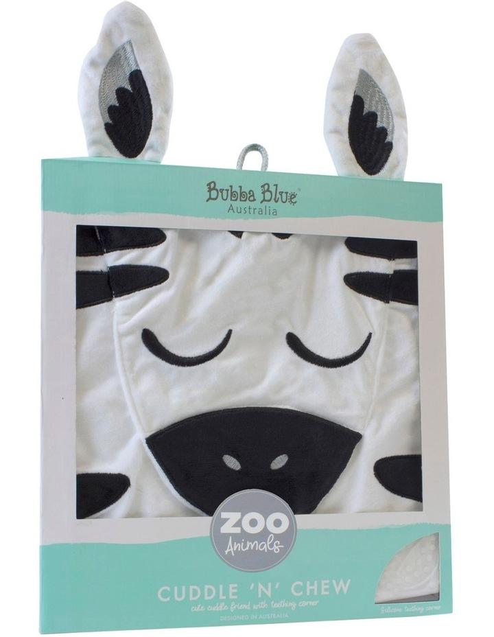 Zebra Cuddle 'n' Chew image 1