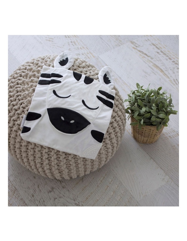 Zebra Cuddle 'n' Chew image 3