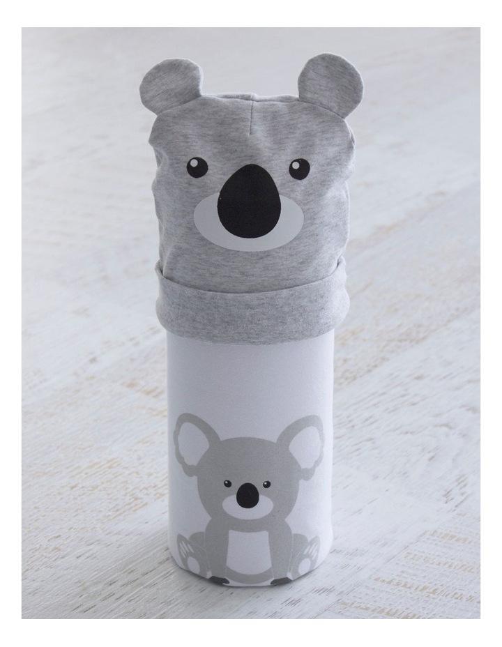 Koala Swaddling Stretchie & Novelty Beanie Set image 2