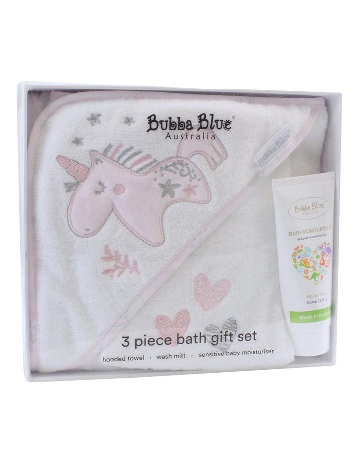 Unicorn Magic 3pc Bathtime Gift Set image 1
