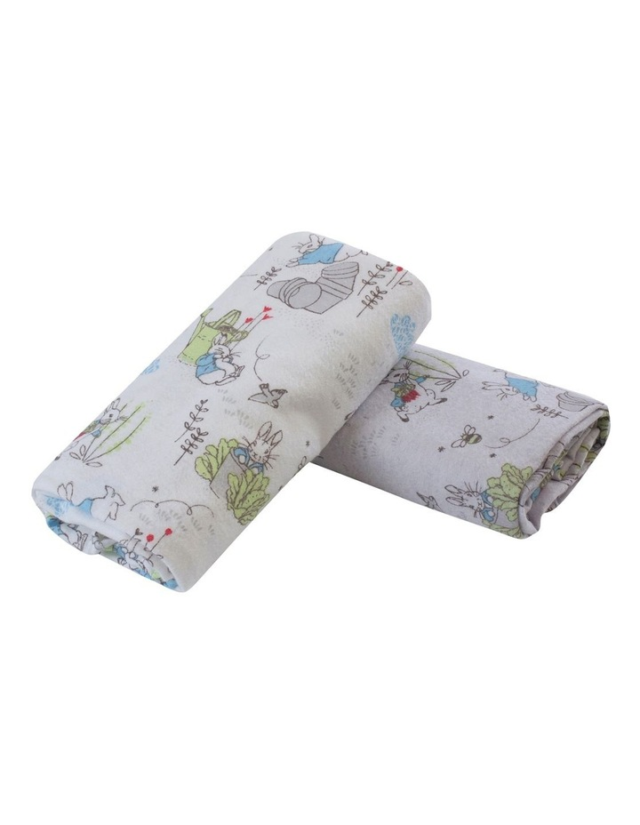 Peter Rabbit Adventures' 2 Pack Flannel Wraps image 1