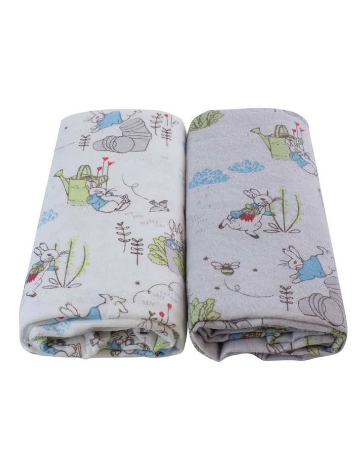 Peter Rabbit Adventures' 2 Pack Flannel Wraps image 2