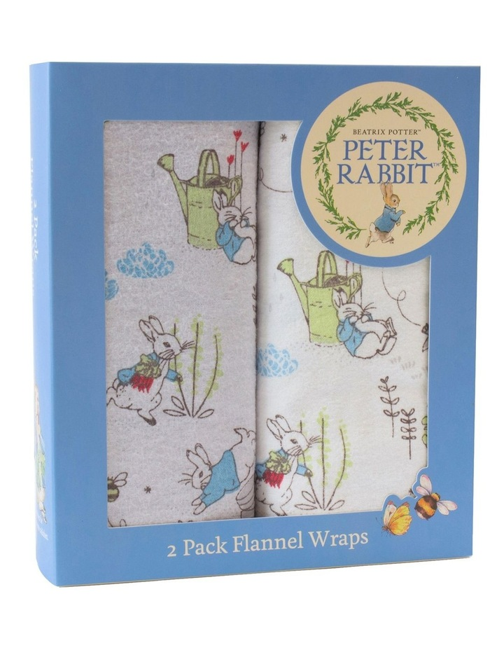 Peter Rabbit Adventures' 2 Pack Flannel Wraps image 3