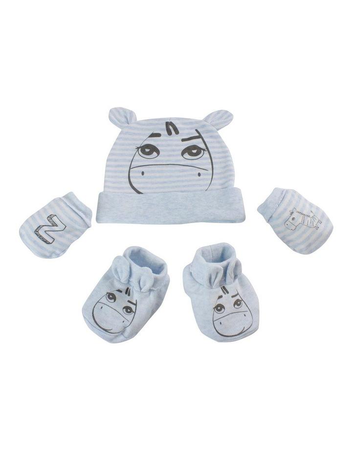 Zebra 3pc Newborn Layette Set image 2