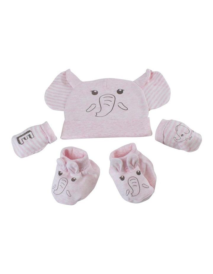 Elephant 3pc Newborn Layette Set image 2