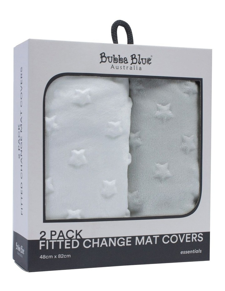 Essential Change Mat Covers 2pk image 1
