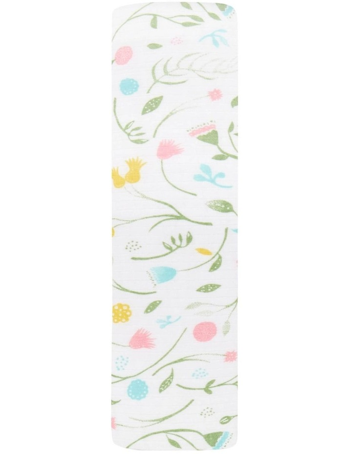 Spring Awakening - Flowers Single Swaddle image 1
