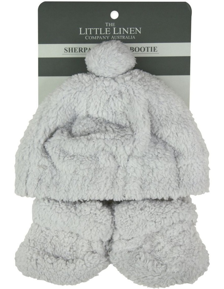 TLLC Sherpa Beanie   Bootie - Drizzle Grey image 2