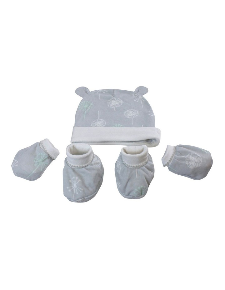 Mint Meadow 3 Piece Layette Set image 2