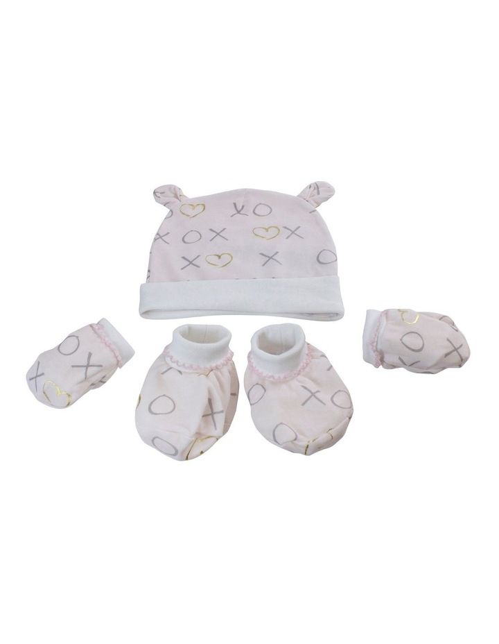 Bloom 3-Piece Layette Set in Pink image 2