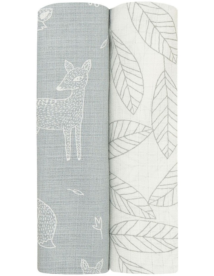 Woodsy 2 Pack Bamboo Swaddles image 2