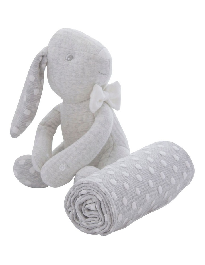 Soft Cuddles 2 Piece Baby Gift Set - Grey image 2